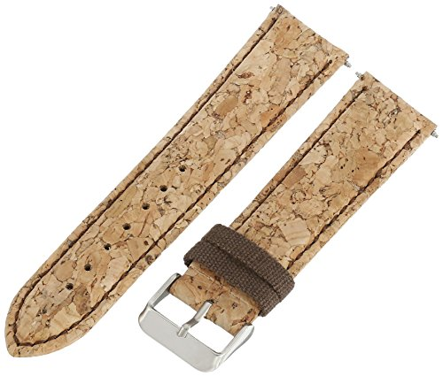 Voguestrap TX96722BG Canvas Brown Watch