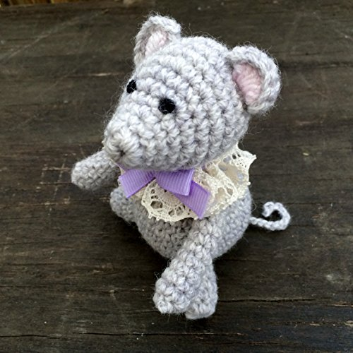 Crocheted Mouse - 1