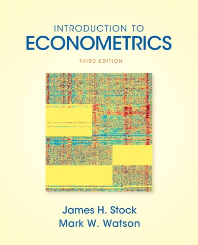 Introduction to Econometrics (3rd Edition) (Addison-wesley Series in Economics)