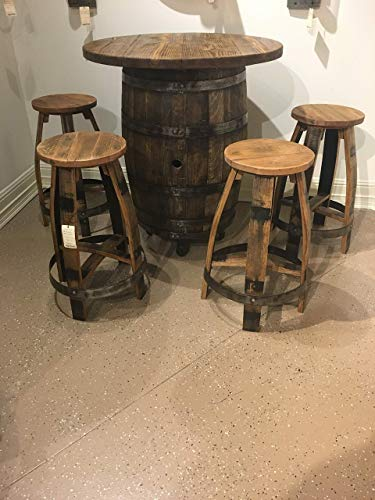 - Bourbon Barrel Pub Table set