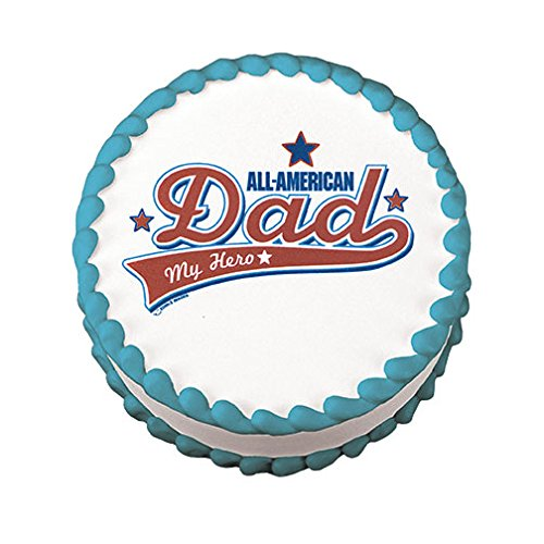 (Lucks Edible Image, All American Dad, 12 Count)