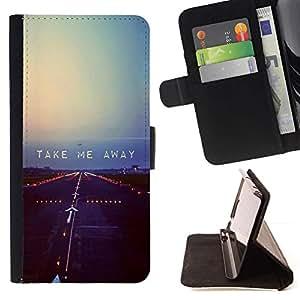 For Apple iPhone 5C Case , Volar Libertad Rebel Cita triste- la tarjeta de Crédito Slots PU Funda de cuero Monedero caso cubierta de piel