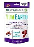 yummy earth gummy bears - YumEarth Organic Vitamin C Antioxidant Fruit Drops, 3.3 Ounce Pouches (Pack of 6)