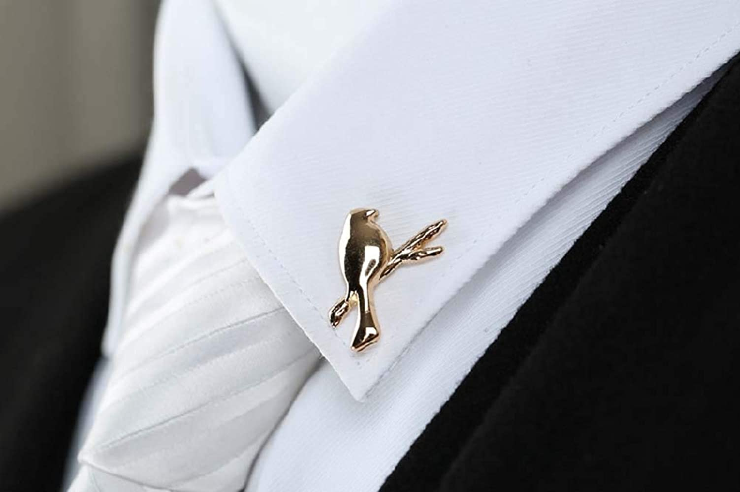1 par Retro Bird Suit Shirt Collar Decoraciones Broche Corbata ...
