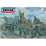"""'emhar em7204–Figurine–1/72WWI Allemande Artille rieund 77mm 96N/A geschütz """""""