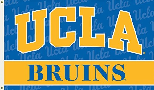BSI Indoor Outdoor Sports Banner Ucla Bruins Team Logo 3 Ft. X 5 Ft. Flag With Grommets by BSI