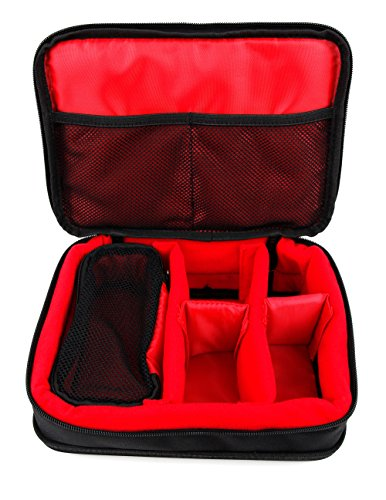 DURAGADGET Protective EVA Gadget Carry Case (in Red) for HP Sprocket & HP Sprocket 2-in-1 Portable Photo Printer & Instant Camera by DURAGADGET