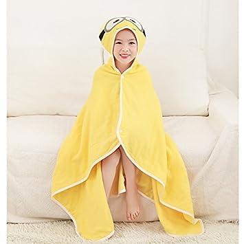 KK&MM Bebé niños s toalla de baño capa de gasa absorbente tapa de ...