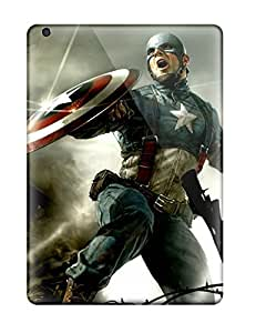 Air Scratch-proof Protection Case Cover For Ipad/ Hot Captain America Cg Phone Case