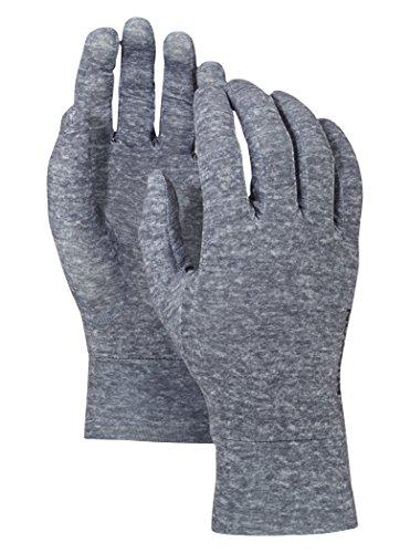 Burton Touchscreen Glove Liners Monument Heather (Burton Glove Liner)