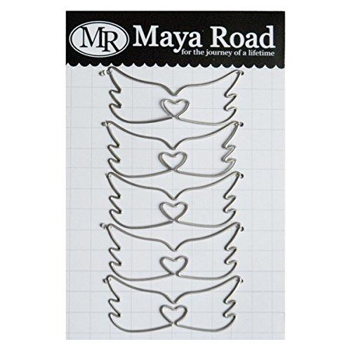 Maya Road MVT2811 Wing Vintage Clips ()
