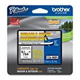 BRTTZEN201 - Brother TZ Super-Narrow Non-Laminated Tape for P-Touch Labeler
