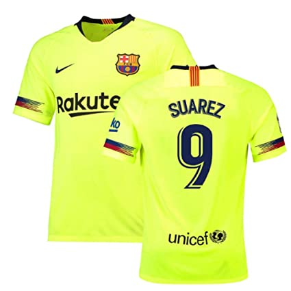Amazon.com   2018-19 Barcelona Away Football Soccer T-Shirt Jersey ... 36234f913
