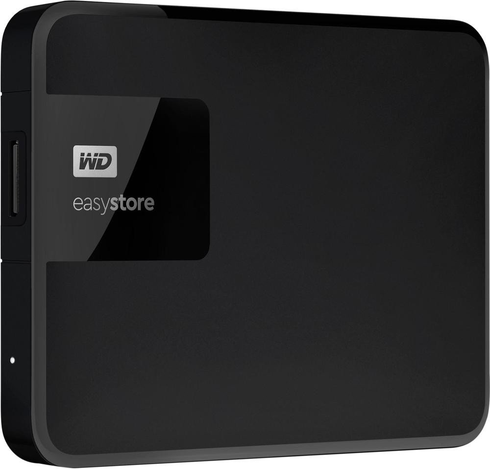 WD Easystore 1TB External USB 3.0 Portable Hard Drive - Black WDBDNK0010BBK-WESN by Western Digital