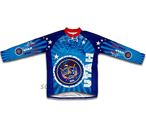 (ScudoPro Utah Winter Thermal Cycling Jersey for Women - Size XL )