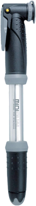 Topeak Minipumpe Mini Dual Fahrradpumpe Luftpumpe für Schrader und Presta Ventil