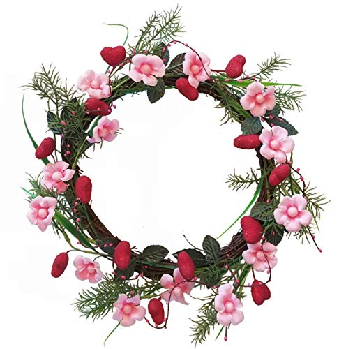 - Homester Valentine Heart Wreath Candle Ring