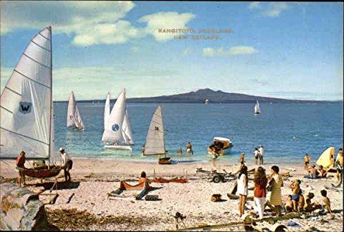 Rangitoto - Waitemata Harbour Auckland, New Zealand Original Vintage