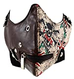 Enimay Biker Face Mask Wind Protector Studded Vented Strap Love From Punk