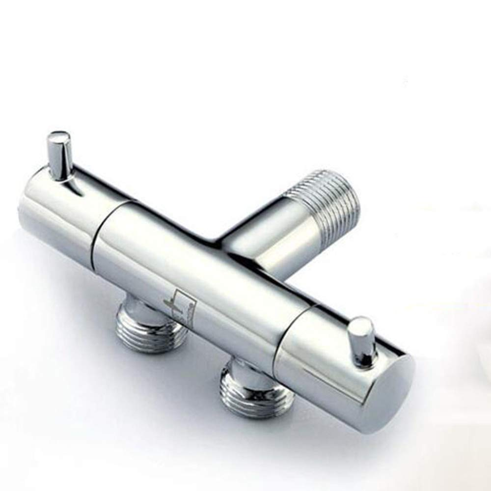 JHMY Kupfer Kupfer Wasserhahn Wasserhahn In Zwei Oder DREI Aus Wasser Toilette Multifunktionswaschmaschöne,Silber