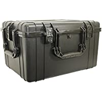 Condition 1 #024 Black Airtight/Watertight Protective Case with Pick N Pluck Foam