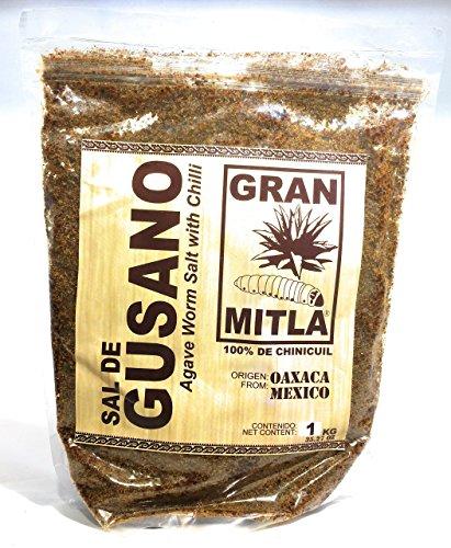 - Gran Mitla Sal de Gusano 1 Kilogram Bag (2.20 Pounds)