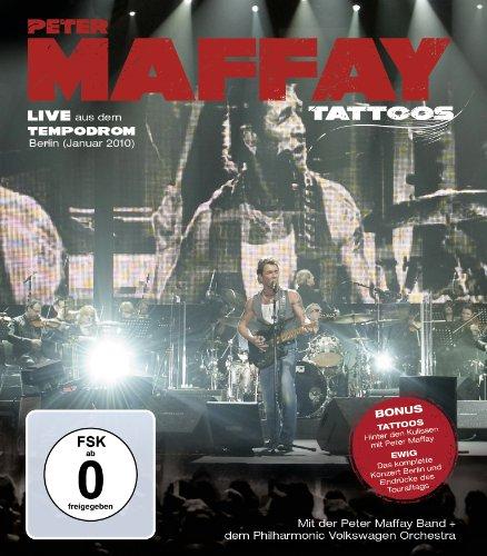 Blu-ray : Peter Maffay - Tattoos: Live (Blu-ray)