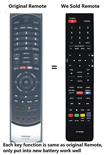 toshiba tv remote control - 7