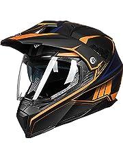 ILM Off Road Motorcycle Dual Sport Helmet Full Face Sun Visor Dirt Bike ATV Motocross DOT Approved
