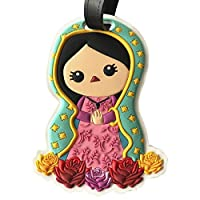 By Mexico identificador de maleta Virgen PVC