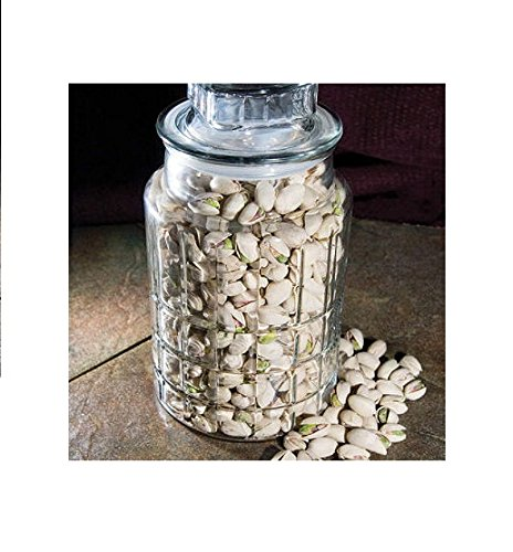 Natural In-shell Pistachios in Jar - 30 - Online Buy Glass