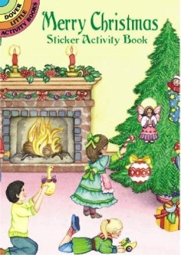 Download Merry Christmas Sticker Activity Book (Dover Little Activity Books Stickers) PDF