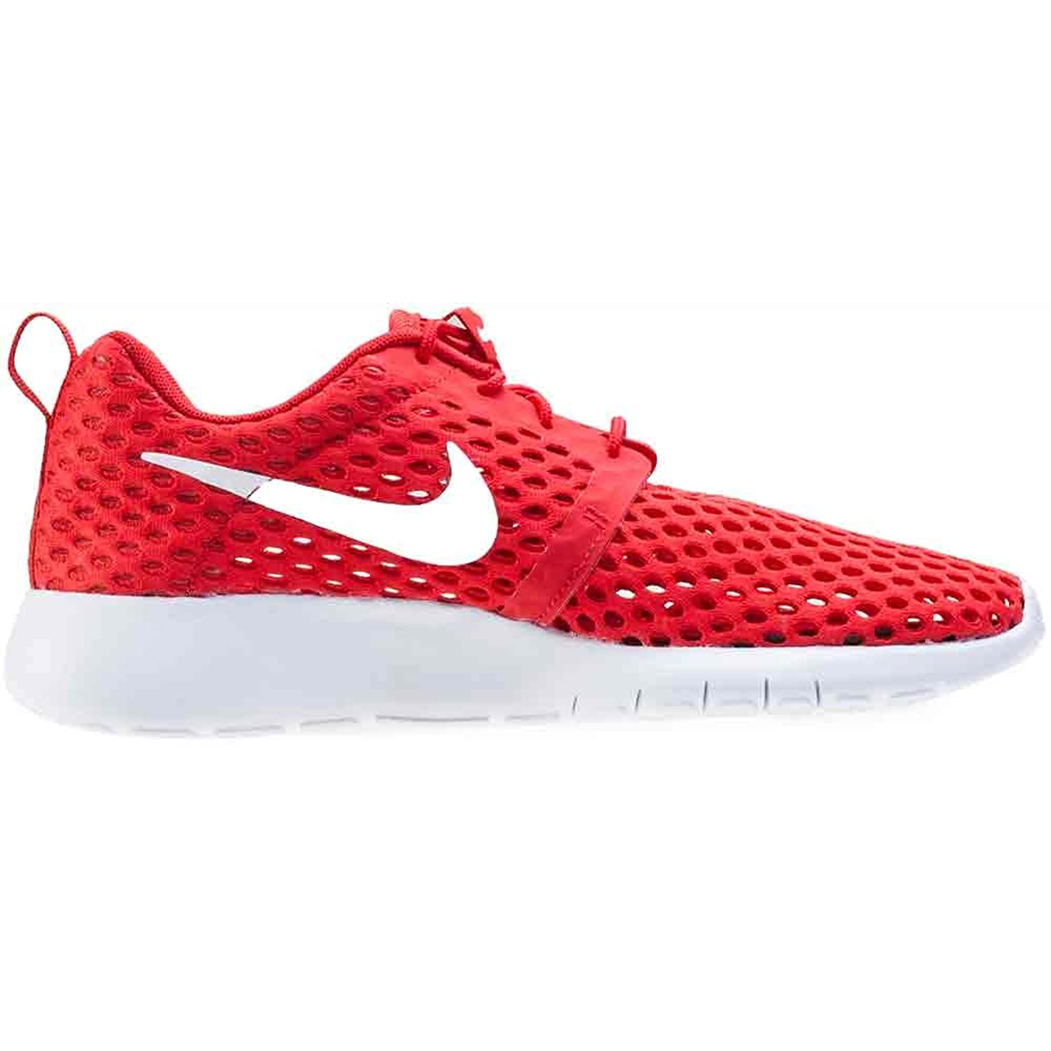 Amazon com NIKE Youth Roshe One Flight Weight GS University Red White 705485 601 Running