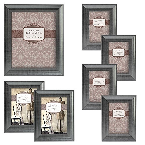 MCS 7pc Wide Scoop Molding Frame Set, Pewter (65615) (Photo Pewter)