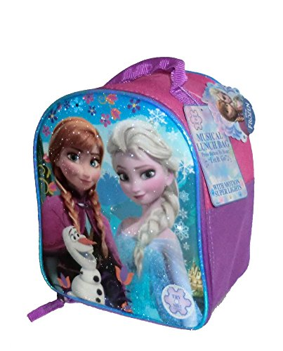 Fast Forward Disney's Frozen Light Up Musical Lunch Box Anna/Elsa/Olaf