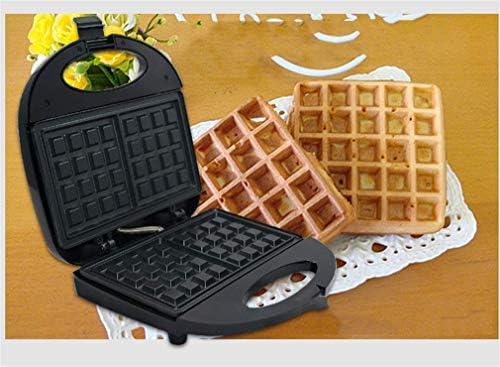 LXTIN Gaufriers, Machine à gâteaux, Acier Inoxydable Chauffage Double Face Plaques antiadhésives Plaque de Gril électrique Machine à Petit déjeuner Machine à Muffins