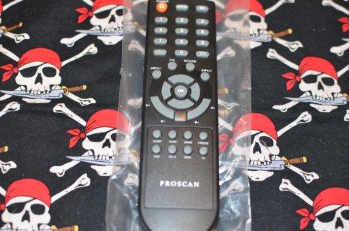 Original OEM Proscan LCD TV Remote Control HOFO7I654GPD4 Sup
