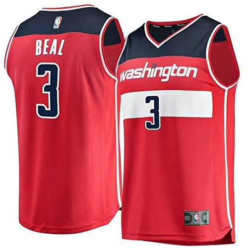 Fanatics Branded Fanatics Branded Bradley Beal Washington Wizards Red Fast Break Replica Jersey - Icon Edition スポーツ用品 【並行輸入品】 B07FT7H88K XXX-Large