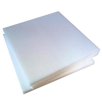 Arketicom - Relleno cuadrado para sillas, de poliuretano expandido, alta densidad, 30 HD