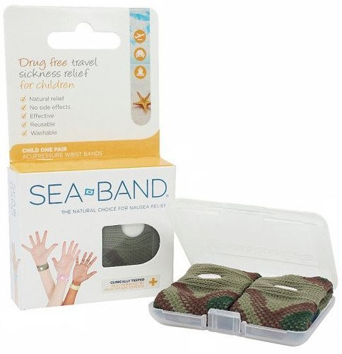 Sea-Band For Children Wristband 1 Pair Camouflage by Sea-Band