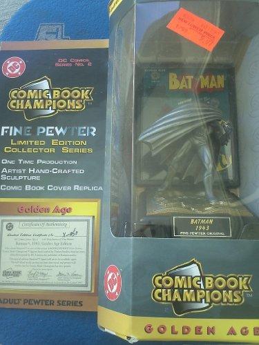 DC Comics Series No.2 Batman 1943 Fine Pewter Figurine Comic