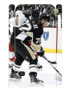 Wonderful Boys Series Pattern Hockey Player Cover Skin for Samsung Galaxy S5 I9600 Case by lolosakes