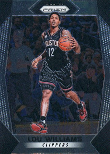 2017-18 Panini Prizm #218 Lou Williams Los Angeles Clippers Basketball Card - GOTBASEBALLCARDS