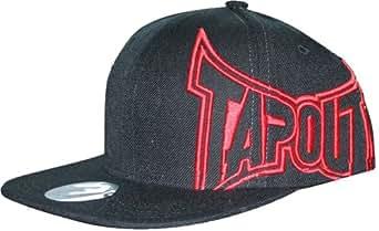 Tapout Sideways 4.0 Black / Red Snap Back Hat