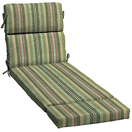 Amazon.com : allen + roth 1-Piece Patio Chaise Lounge Chair Cushion on green glider chair, green accent chair, green living room chair, green club chair, green wicker chair, green recliner chair, green vanity chair, lime green chair, green office chair, adirondack lounge chair, green swing chair, green dining chair, green leather chair, green bar chair, green hammock chair, teal lounge chair, green arm chair, green egg chair, danish lounge chair, contour lounge chair,