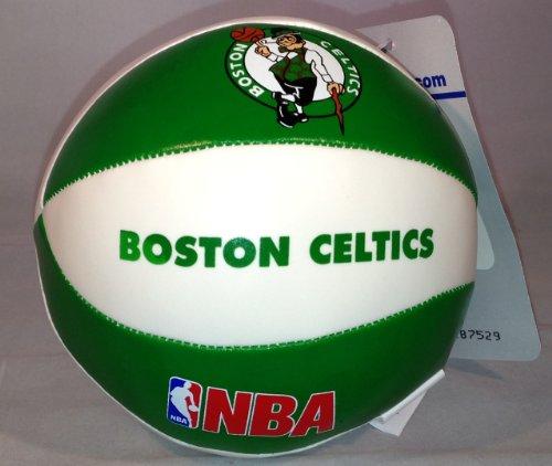 NBA Boston Celtics Vinyl Soft Squeeze Basketball Toy Plush Softee Kid Ball - 4