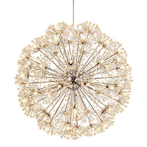 Flower Ball Light Pendant in US - 4