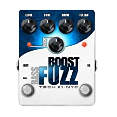 TECH21 Bass Boost Fuzz