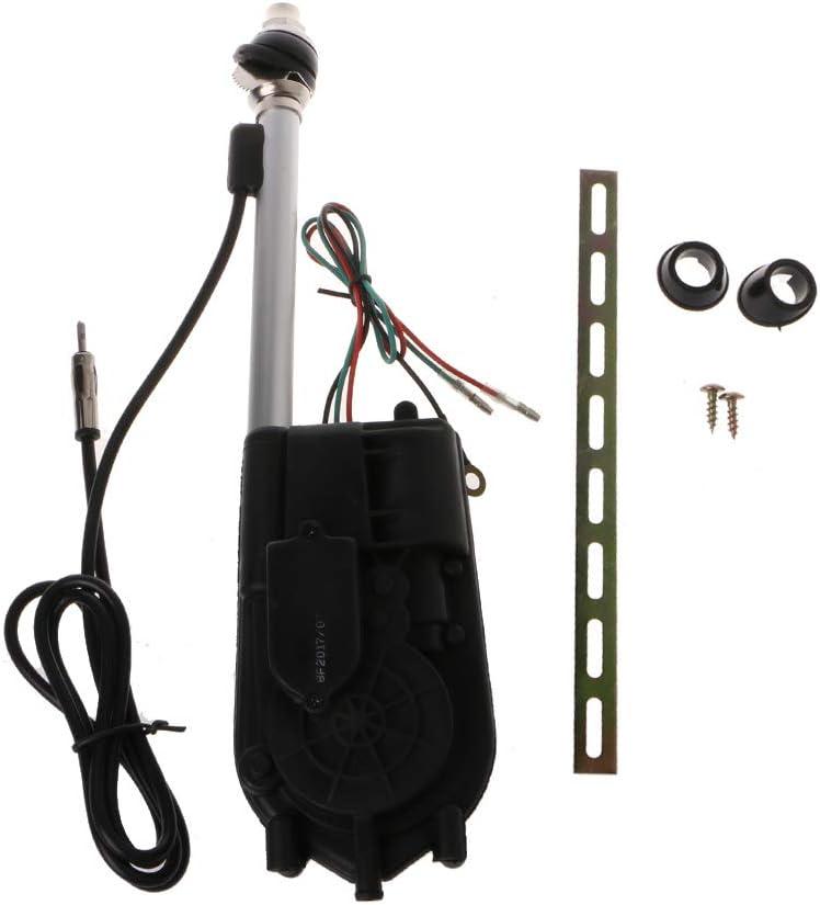 Coludor 12 V Universal Auto Am Fm Radio Elektrische Leistung Automatische Antenne Kit Auto