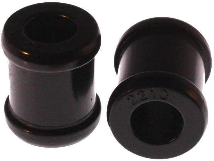 Universal Shock Eyes Standard Straight Eye Style ID 5//8 in L-1 7//16 in w//2 Bushings Black